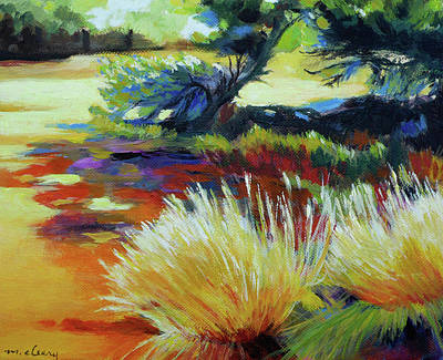 Painting - Shade At Smith Rock by Melody Cleary