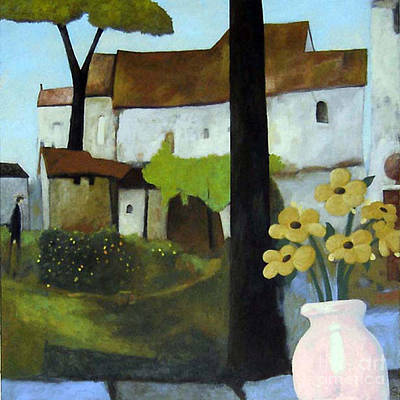 Painting - Shade Garden by Glenn Quist