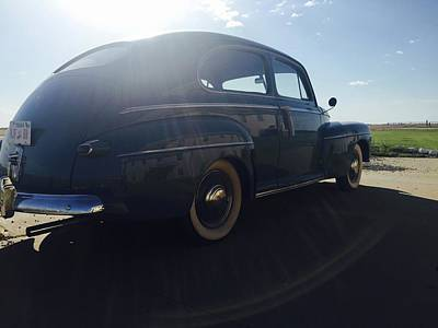 Photograph - Shaded 40s Ford by Christin Brodie