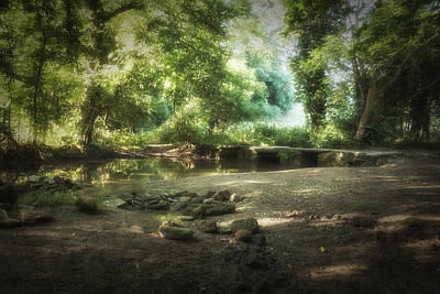 Photograph - Shaded Brook by Stewart Scott