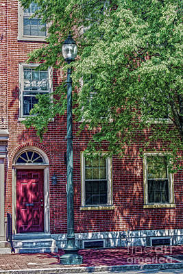 Photograph - Shaded Colonial by Sandy Moulder