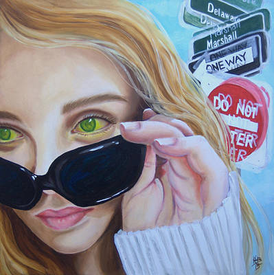Painting - Shades by Kirsten Beitler