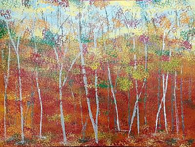 Shades Of Autumn Art Print by Judi Goodwin
