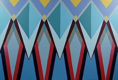 Painting - Shades Of Blue by Charla Van Vlack