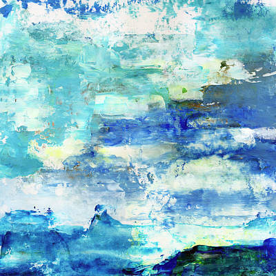 Painting - Shades Of Blue by Daniel Ferguson