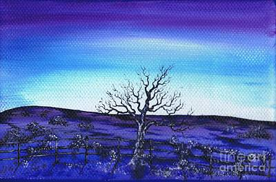 Painting - Shades Of Blue by Kenneth Clarke