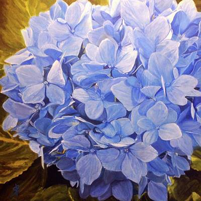 Painting - Shades Of Blue by Sharon Bignell