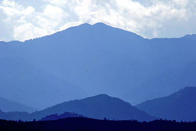 Mountain Royalty-Free and Rights-Managed Images - Shades Of Blue  by Stelios Kleanthous