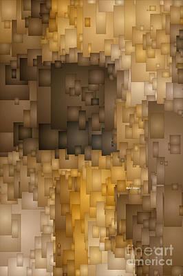 Digital Art - Shades Of Brown by Rafael Salazar