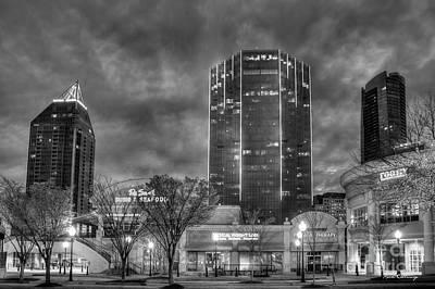 Shades Of Business Buckhead Financial District Atlanta Art Art Print