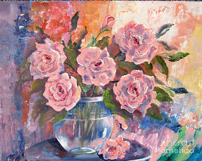 Painting - Shades Of Flowers by Lisa Boyd