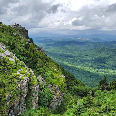 Rock Photograph - Shades Of Green by Ric Schafer