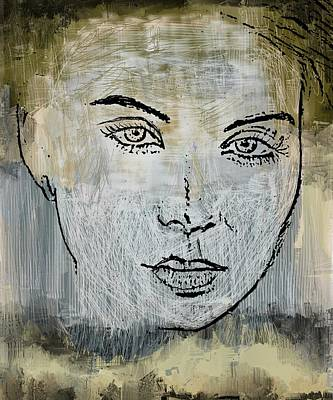 Mixed Media - Shades Of Grey And Beige by Eduardo Tavares