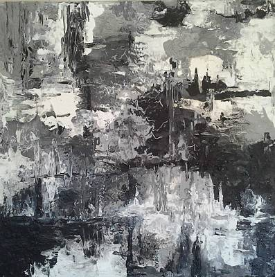 Painting - Shades Of Grey by Joy Fahey