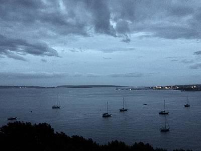 Photograph - Shades Of Grey On Casco Bay by Patricia E Sundik