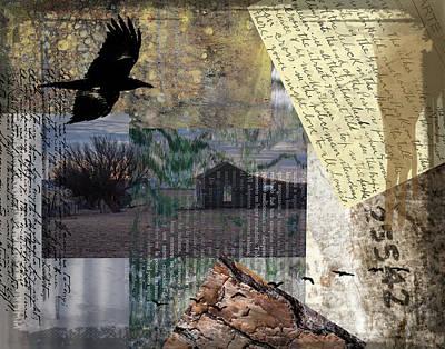 Digital Art - Shades Of Home by Nadine Berg