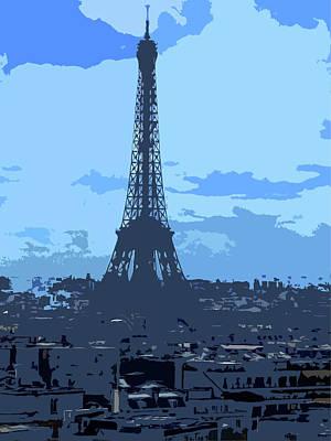 Shades Of Paris Art Print by Roberto Alamino