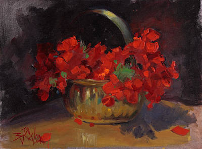 Painting - Shades Of Red by Billie Colson