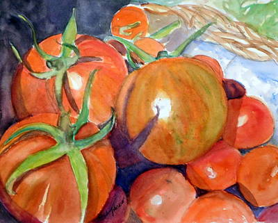 Painting - Shades Of Ripening by Anna Jacke