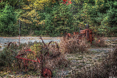 Photograph - Shades Of Rust by Richard Bean