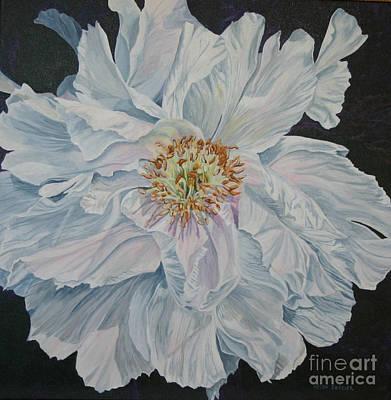 Shades Of White Art Print by Helen Shideler