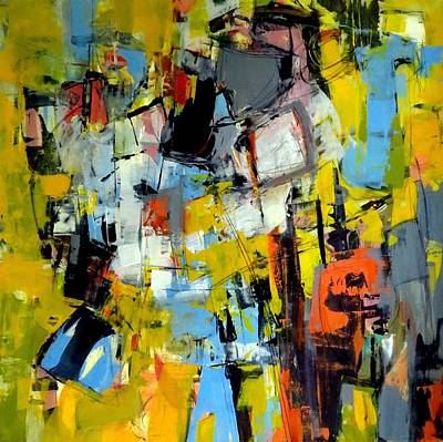 Painting - Shades Of Yellow by Katie Black