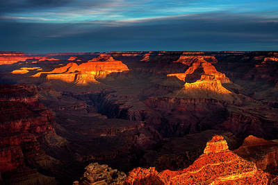 Photograph - Shadow And Light Grand Canyon by Andrew Soundarajan