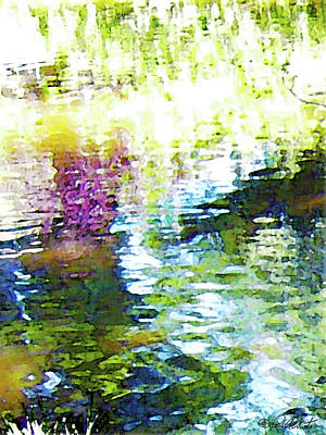 Photograph - Shadow And Light On Water by Michele Avanti