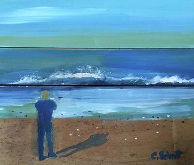 Painting - Shadow Beach by Christina Schott