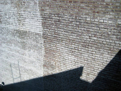 Shadow Brick Art Print by Sean Owens