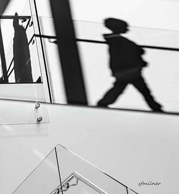 Photograph - Shadow Child by Steven Milner