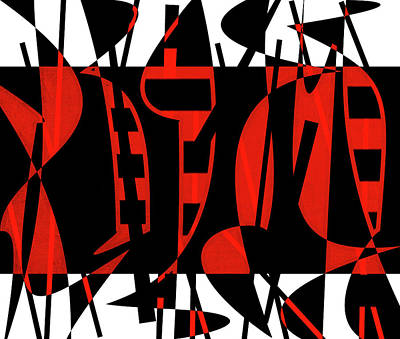 Alexander Calder Digital Art - Shadow Dance by Linda Dunn