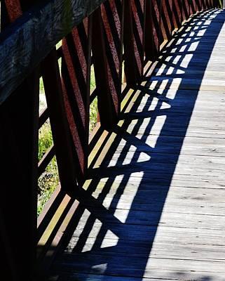 Photograph - Shadow Design by Eileen Brymer
