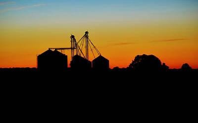 Photograph - Shadow Farm by William Bartholomew