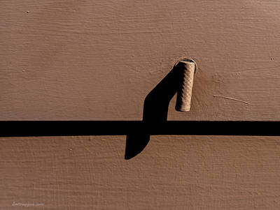 Photograph - Shadow Handle by Britt Runyon