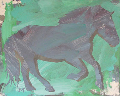 Shadow Horse Art Print