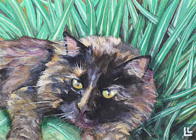 Painting - Shadow In The Grass by Lindi Levison