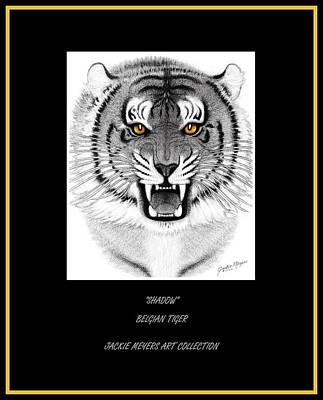 Shadow Art Print by Jackie Meyers