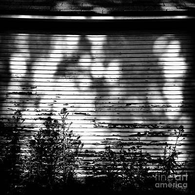 Photograph - Shadow Light And Lines by Frank J Casella