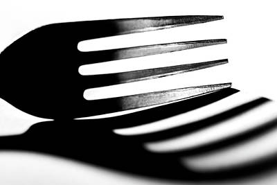Photograph - Shadow Of Fork by Lonnie Paulson