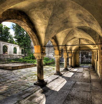 Lviv Photograph - Shadow Of The Day by Evelina Kremsdorf