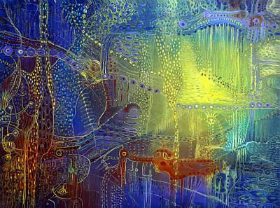 Shadow Of The Dream IIi Print by Lolita Bronzini