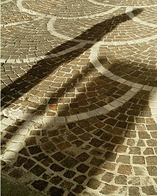 Photograph - Shadow On Stone by Michael Flood