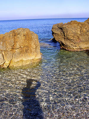 Photograph - Shadow Pelion Greece by Christina Knapp