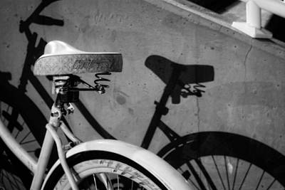 Photograph - Shadow Ride In Black And White by Greg Mimbs
