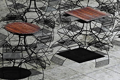 Photograph - Shadow Seating by Laura Ragland