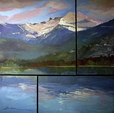Betty Billups Wall Art - Painting - Shadow Side Of Winter by Betty Jean Billups