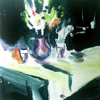 Painting - Shadow Stillness by John Jr Gholson