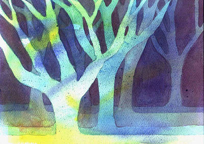 Painting - Shadow Trees by Jane Croteau