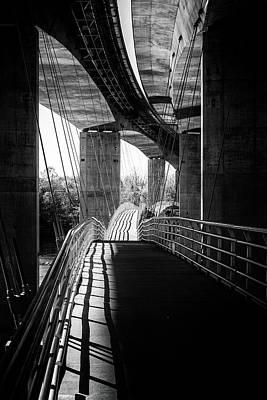 Photograph - Shadow Walk by Alan Raasch